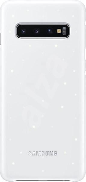 Samsung Galaxy S10 LED Cover bílý - Kryt na mobil