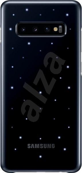 Samsung Galaxy S10+ LED Cover černý - Kryt na mobil