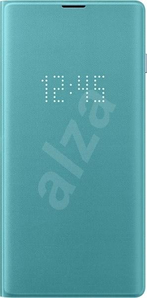Samsung Galaxy S10 LED View Cover zelený - Pouzdro na mobilní telefon