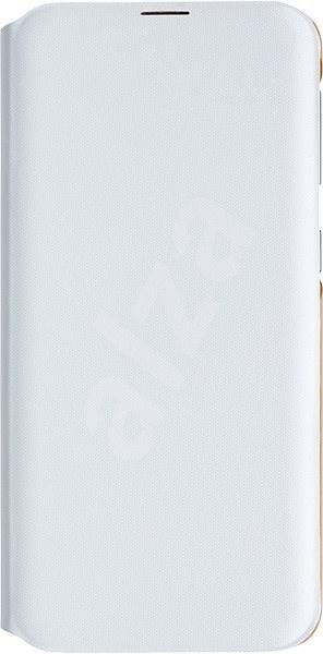 Samsung Galaxy A20e Flip Wallet Cover bílé - Pouzdro na mobil
