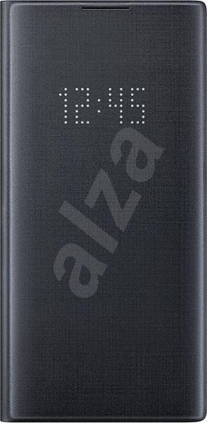 Samsung Flipové pouzdro LED View pro Galaxy Note10+ černé - Pouzdro na mobilní telefon