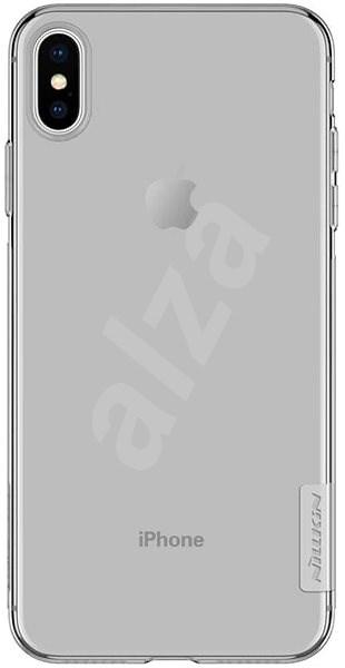 Nillkin Nature TPU pro Apple iPhone XS Max Grey - Kryt na mobil