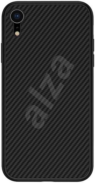 Nillkin Synthetic Fiber Ochranný Zadní Kryt Carbon pro Apple iPhone XR black - Kryt na mobil