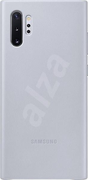 Samsung Kožený zadní kryt pro Galaxy Note10+ šedý - Kryt na mobil