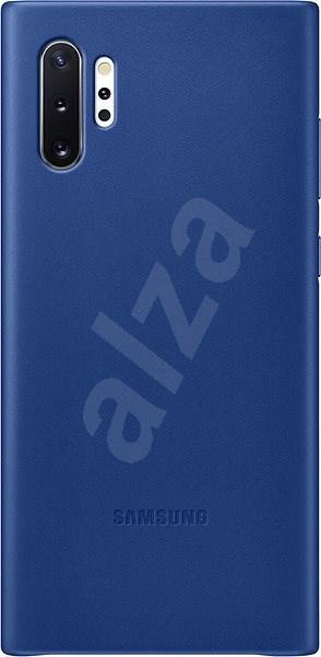Samsung Kožený zadní kryt pro Galaxy Note10+ modrý - Kryt na mobil