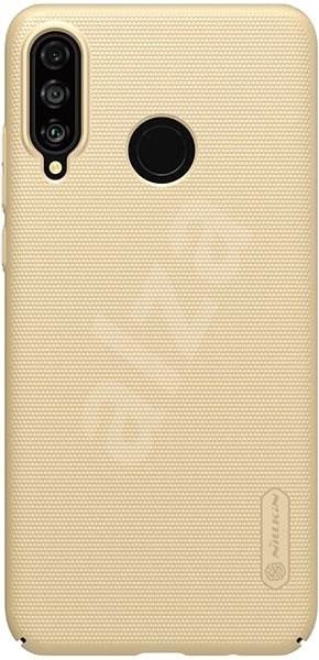 Nillkin Frosted Zadní Kryt pro Huawei P30 Lite gold - Kryt na mobil