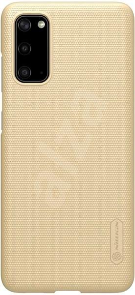 Nillkin Frosted Zadní Kryt pro Samsung Galaxy S20 Gold - Kryt na mobil