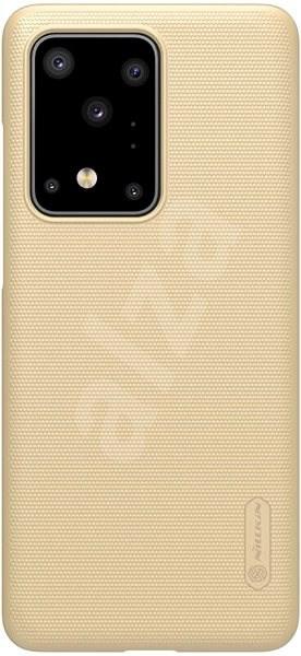 Nillkin Frosted Zadní Kryt pro Samsung Galaxy S20 Ultra Gold - Kryt na mobil