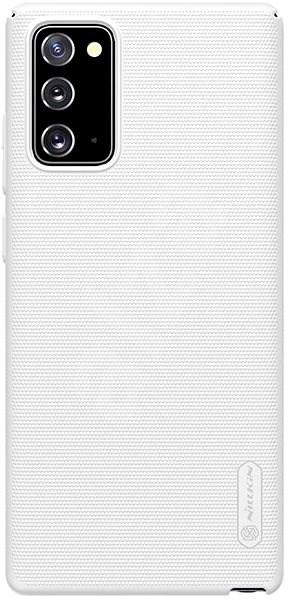 Nillkin Frosted zadní kryt pro Samsung Galaxy Note 20 White - Kryt na mobil