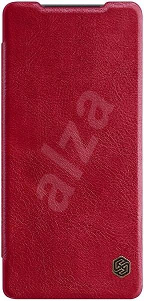 Nillkin Qin kožené pouzdro pro Samsung Galaxy Note 20 Red - Pouzdro na mobil
