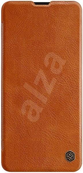 Nillkin Qin pro Samsung Galaxy A71 Brown - Pouzdro na mobil