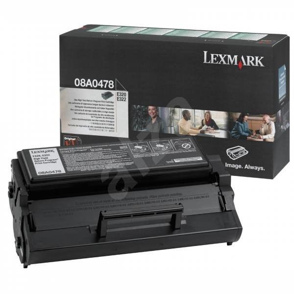 LEXMARK 08A0478 černý - Toner