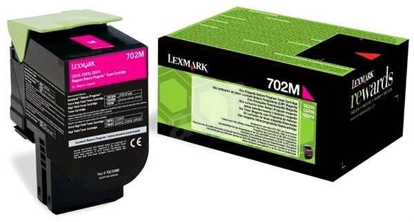 LEXMARK 70C20M0 purpurový - Toner