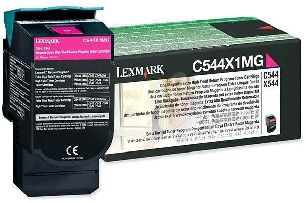 LEXMARK C544X1MG purpurový - Toner