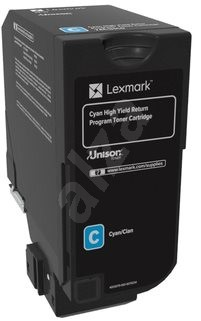 LEXMARK 74C2HC0 azurový - Toner