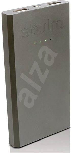 Soulra Boost 8400 Silver - Powerbanka