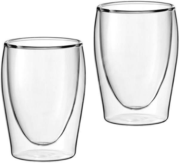 Scanpart Termo skleničky na kávu, 2ks 175ml - Termosklenice