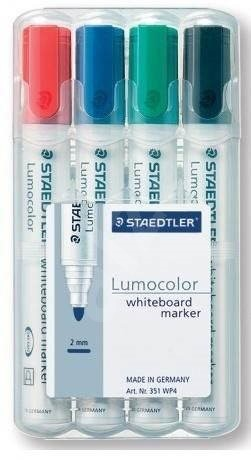 STAEDTLER Lumocolor 351, 2 mm, sada 4 barev - Popisovač