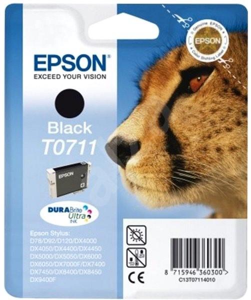 Epson T0711 černá - Cartridge