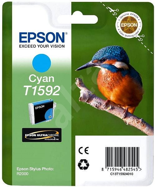 Epson T1592 azurová - Cartridge