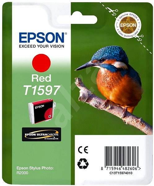Epson T1597 červená - Cartridge