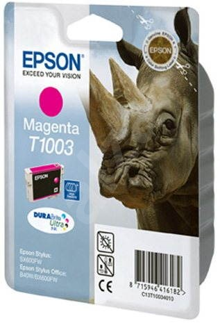 Epson T1003 purpurová - Cartridge