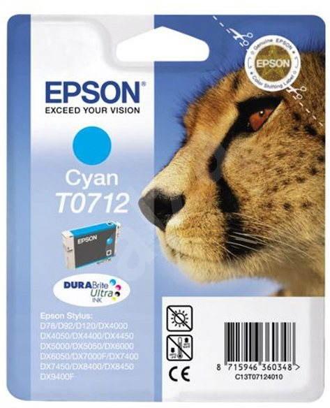 Epson T0712 azurová - Cartridge