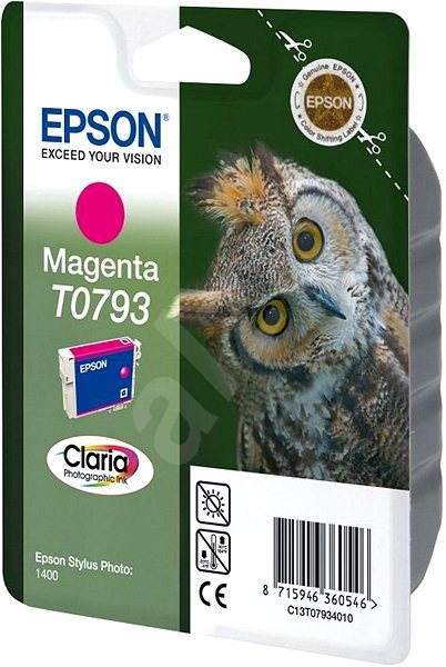 Epson T0793 purpurová - Cartridge