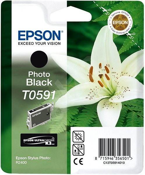 Epson T0591 černá - Cartridge