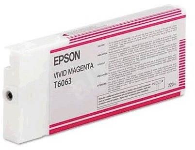 Epson T6063 purpurová - Cartridge