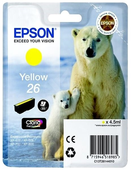 Epson T2614 žlutá - Cartridge