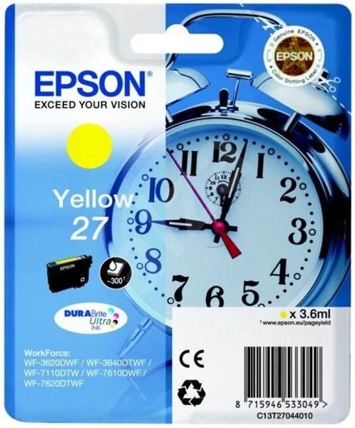 Epson T2704 27 žlutá - Cartridge