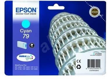 Epson C13T79124010 79 azurová - Cartridge