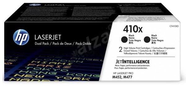 HP CF410XD č. 410X Dual Pack černý 2ks - Toner