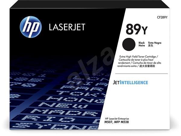 HP CF289Y č. 89Y černý - Toner