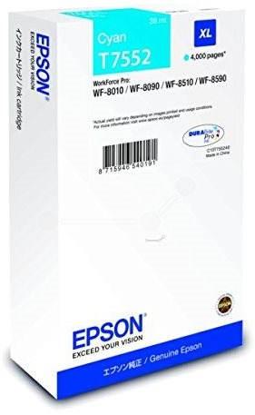 Epson T7552 XL azurová - Cartridge