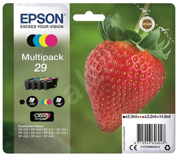 Epson T29 multipack - Sada cartridge