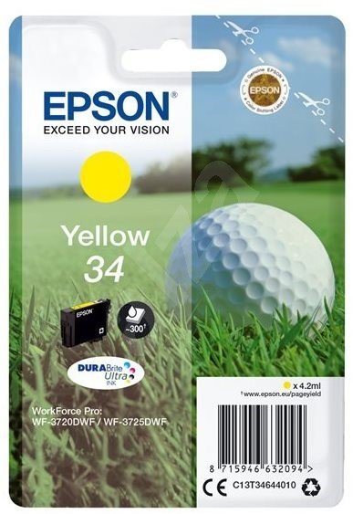 Epson T3464 žlutá - Cartridge