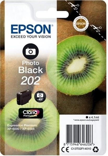 Epson 202 Claria Premium foto černá - Cartridge