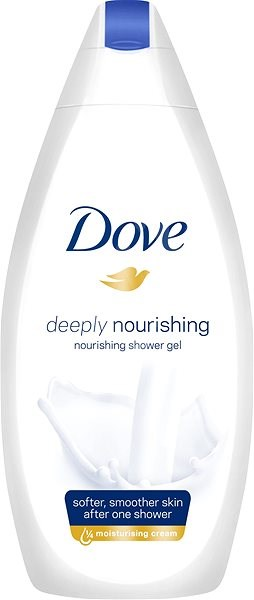 DOVE Deeply Nourishing Shower Gel 500 ml - Sprchový gel
