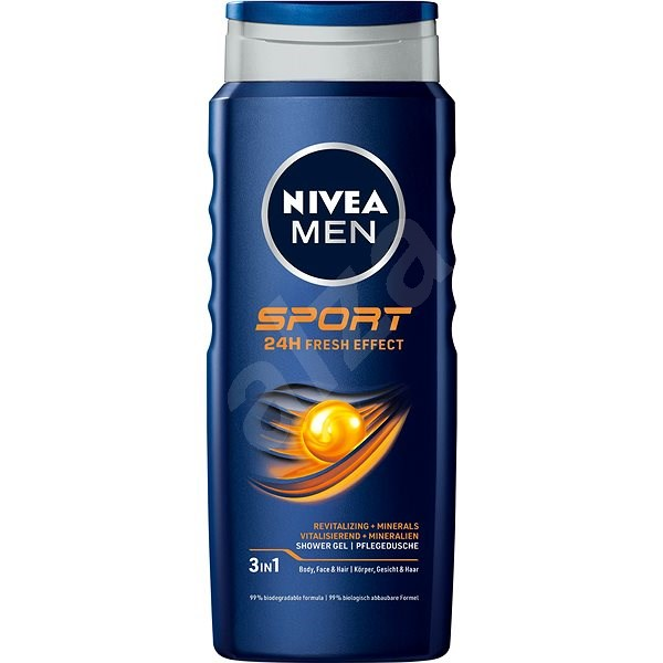 NIVEA MEN Sport Shower Gel 500 ml - Pánský sprchový gel