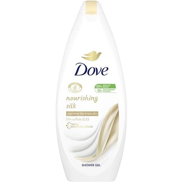 DOVE Silk Glow Shower Gel 250 ml - Sprchový gel