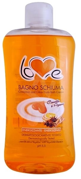 LOVE Bagno Schiuma Cannella E Agrumi 1000 ml - Pěna do koupele