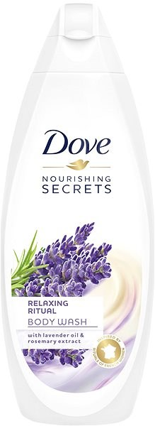 DOVE Lavender Oil & Rosemary Extract Shower Gel 750 ml - Sprchový gel