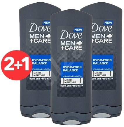 DOVE Men+Care Hydration Balance 400 ml 2+1 - Pánský sprchový gel