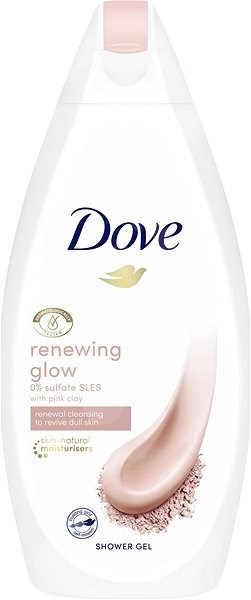Dove Renewing Glow Pink Clay Shower Gel 500 ml - Sprchový gel