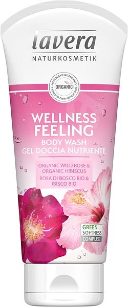 LAVERA Body Wash Wellness Feeling 200 ml - Sprchový gel