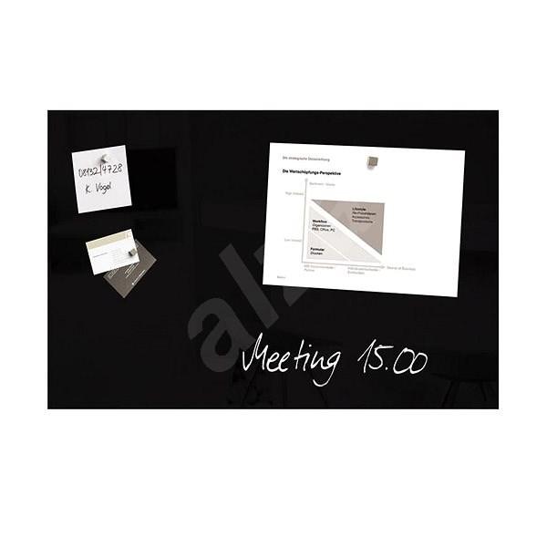 SIGEL Artverum 48x78cm černá - Magnetická tabule