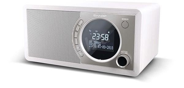 Sharp DR-450WH - Rádio