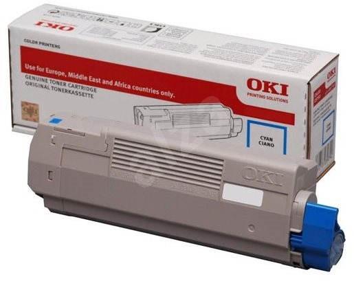 OKI 46490607 azurový - Toner
